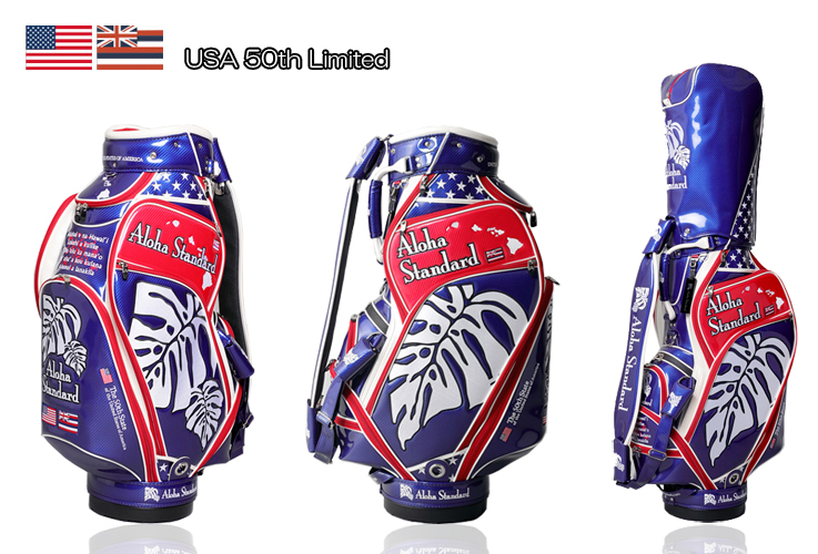 50 Th Aloha Standard Cb902 Usa Limited 3 9 5 Inch Golf Bag