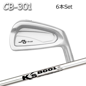 三浦技研(アイアン6本セット#5-PW/#6-GW)CB-301 + K's8001(島田ゴルフ)キャビティアイアン ミウラクラフトマンワールド ヘッドカスタム注文可能 Miura Golf