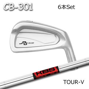 三浦技研(アイアン6本セット#5-PW/#6-GW)CB-301 + KBS Tour V(KBS)キャビティアイアン ミウラクラフトマンワールド ヘッドカスタム注文可能 Miura Golf