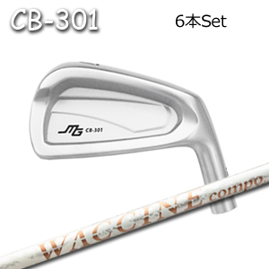 三浦技研(アイアン6本セット#5-PW/#6-GW)CB-301 + ワクチンコンポ GR330tb(グラビティー)キャビティアイアン ミウラクラフトマンワールド ヘッドカスタム注文可能 Miura Golf