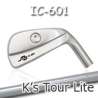 【カスタムオーダー】三浦技研IC-601 中空アイアン+K's Tour Lite【miura golf】