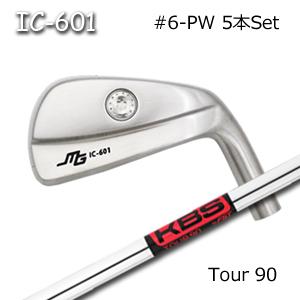 Golf 三浦技研(アイアン5本セット#6-PW)IC-601 Miura 中空アイアン Tour90キャビティアイアン KBS + ミウラクラフトマンワールド
