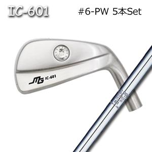 三浦技研(アイアン5本セット#6-PW)IC-601 中空アイアン + NS1150GH(日本シャフト)キャビティアイアン ミウラクラフトマンワールド Miura Golf