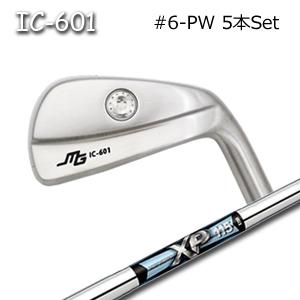 三浦技研(アイアン5本セット#6-PW)IC-601 中空アイアン + XP 95(トゥルーテンパー)キャビティアイアン ミウラクラフトマンワールド Miura Golf