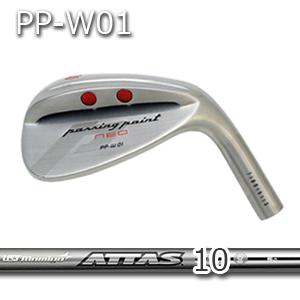 【カスタムオーダー】三浦技研PP-W01ウェッジ+ATTAS 10【miura golf】