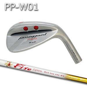 【カスタムオーダー】三浦技研PP-W01ウェッジ+FireExpressMAX WBQ 95【miura golf】