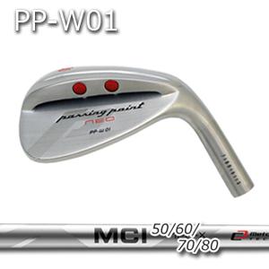 【カスタムオーダー】三浦技研PP-W01ウェッジ+MCI 50/60/70/80【miura golf】