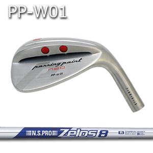 【カスタムオーダー】三浦技研PP-W01ウェッジ+NSPRO ZELOS8【miura golf】