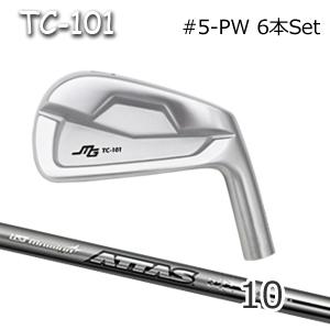 三浦技研(アイアン6本セット#5-PW)TC-101 + ATTAS 10(アッタス)(USTマミヤ)キャビティアイアン ミウラクラフトマンワールド ヘッドカスタム注文可能 Miura Golf