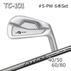 三浦技研(アイアン6本セット#5-PW)TC-101 + ATTAS 40/50/60/80(アッタス)(USTマミヤ)キャビティアイアン ミウラクラフトマンワールド ヘッドカスタム注文可能 Miura Golf
