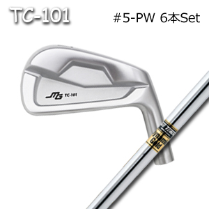 Golf 三浦技研(アイアン6本セット#5-PW)TC-101 ミウラクラフトマンワールド ヘッドカスタム注文可能 + DynamicGold(ダイナミックゴールド)(トゥルーテンパー)キャビティアイアン Miura