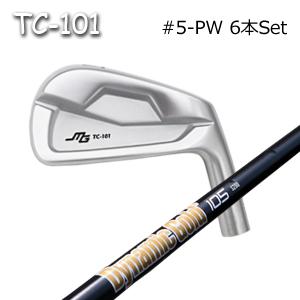三浦技研(アイアン6本セット#5-PW)TC-101 + DG105 ONYX Black(ダイナミックゴールド オニキス)(トゥルーテンパー)キャビティアイアン ミウラクラフトマンワールド ヘッドカスタム注文可能 Miura Golf