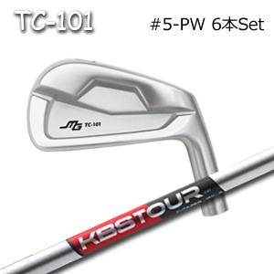 三浦技研(アイアン6本セット#5-PW)TC-101 + KBS Tour C-Taperキャビティアイアン ミウラクラフトマンワールド ヘッドカスタム注文可能 Miura Golf