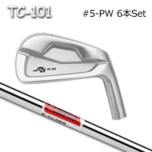三浦技研(アイアン6本セット#5-PW)TC-101 + KBS S-Taper Chromeキャビティアイアン ミウラクラフトマンワールド ヘッドカスタム注文可能 Miura Golf