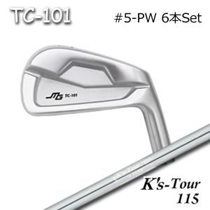 三浦技研(アイアン6本セット#5-PW)TC-101 + K's Tour 115(島田ゴルフ)キャビティアイアン ミウラクラフトマンワールド ヘッドカスタム注文可能 Miura Golf
