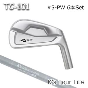 三浦技研(アイアン6本セット#5-PW)TC-101 + K's Tour Lite(島田ゴルフ)キャビティアイアン ミウラクラフトマンワールド ヘッドカスタム注文可能 Miura Golf