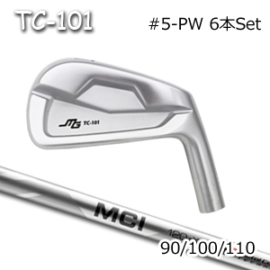 三浦技研(アイアン6本セット#5-PW)TC-101 + MCI 90/100/110(フジクラ)キャビティアイアン ミウラクラフトマンワールド ヘッドカスタム注文可能 Miura Golf