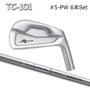三浦技研(アイアン6本セット#5-PW)TC-101 + OT iron(三菱ケミカル)キャビティアイアン ミウラクラフトマンワールド ヘッドカスタム注文可能 Miura Golf