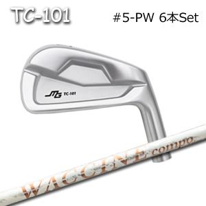 三浦技研(アイアン6本セット#5-PW)TC-101 + ワクチンコンポ GR330tb(グラビティー)キャビティアイアン ミウラクラフトマンワールド ヘッドカスタム注文可能 Miura Golf
