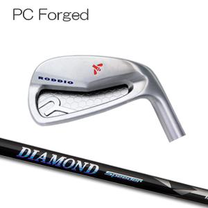 【カスタムオーダー】Roddio(ロッディオ) PC フォージド アイアン+Diamond Speeder