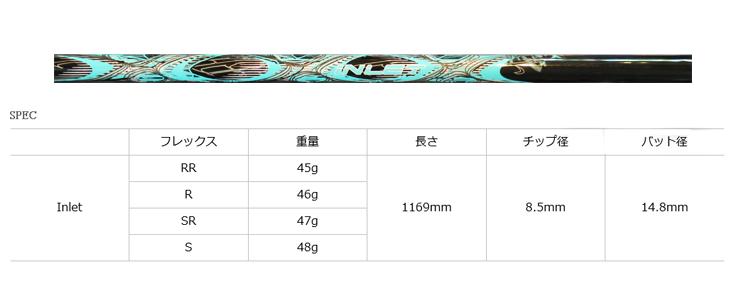 【カスタムオーダー】KAMUI TP-X ドライバー+TRPX Inlet
