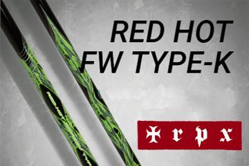 TRPX Red-Hot(レッドホット) Type-K フェアウェイウッド用 シャフト(リシャフト工賃込み)
