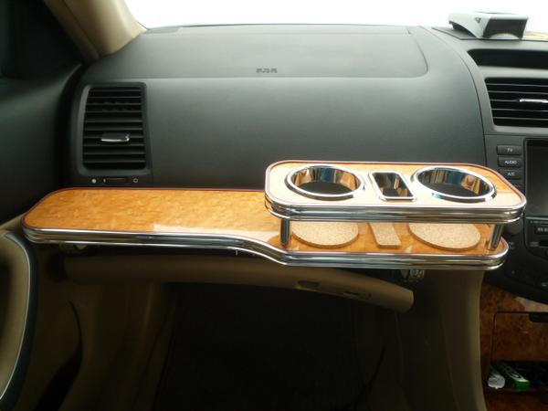【数量限定】携帯ホルダー付 22色から CMアコードワゴン フロントテーブル