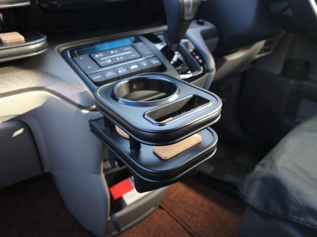 【売り切り お買い得】RP系ステップワゴン(15/4~)  純正ドリンク用カップホルダー 中央 マッドブラック オールブラック