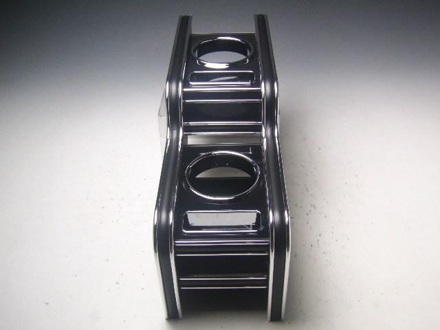 【売り切り! お買い得】S660(15/3~) カップホルダー ブラック BKxシルバー