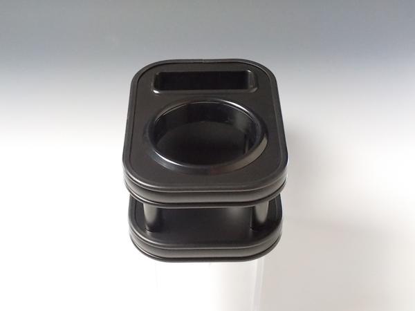 対応型式: LA600タント 13 10~ LA600S 結婚祝い LA610S 売り切り 100%品質保証! カップホルダー お買い得 オールブラック LA600系タント