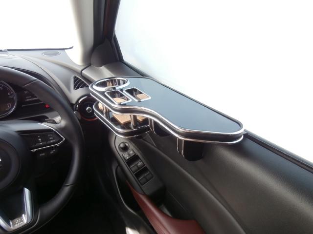 対応型式: CX-3 15 返品送料無料 SALENEW大人気 2~ DK5FW DK5AW ブラック サイドテーブル運転席側 BKxシルバー 売り切り お買い得
