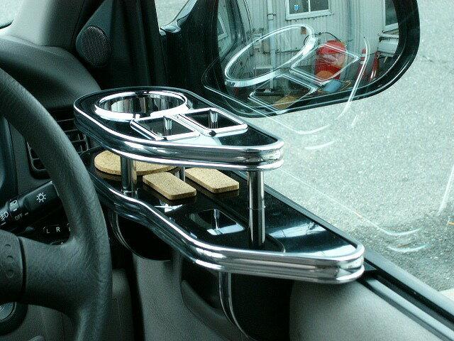ツーリングハイエースサイドテーブル 運転席側