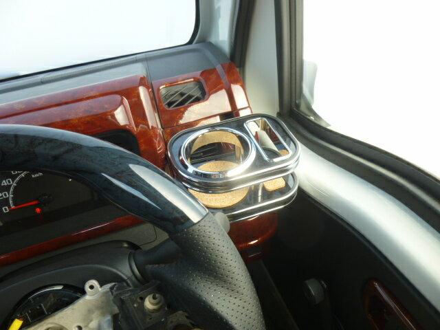 【数量限定】22色から選べる カップホルダー S500系ハイゼットトラック(14/09~)フロント 運転席側