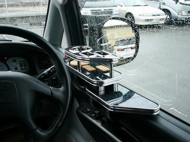 デリカスペースギア サイドテーブル運転席側