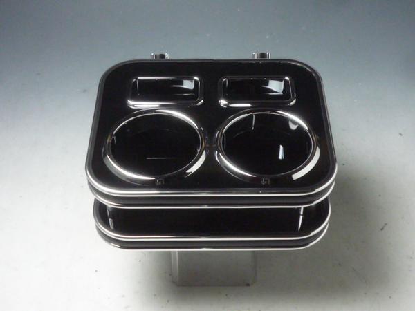 対応型式: N BOX 予約販売 11 12~ DBA-JF1 DBA-JF2 売り切り 以降の車には装着出来ません お買い得 BKxシルバー 舗 2013年11月まで カップホルダー ブラック