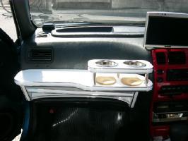 【数量限定】携帯ホルダー付 22色から選べる カローラツーリングワゴン(91/9~)フロントテーブル