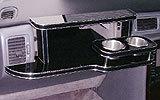 【数量限定】携帯ホルダー付 22色から選べる Y32シーマ(91/8~)フロントテーブル