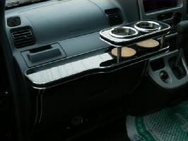 【数量限定】携帯ホルダー付 22色から選べる ハイゼットバン(04/12~)フロントテーブル