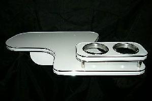 【数量限定】携帯ホルダー付 22色から選べる エブリィバン(91/9~)フロントテーブル