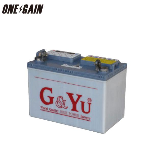 G&Yu バッテリー サイクルバッテリー EB-65 65Ah 5時間率容量 メーカー直送品のため代引 時間指定不可バッテリー バッテリー 充電器 船舶用 メンテナンスフリー マリンレジャー キャンピングカー