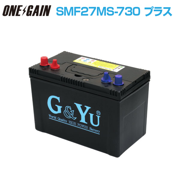 G &Yu battery SMF 27MS-730 (105Ah/20 hours rate capacity) * you cannot choose time