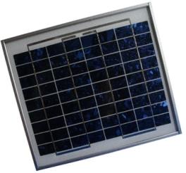 中型 小型ソーラーパネル 太陽光発電モジュール DB010-12 最大出力10.0W