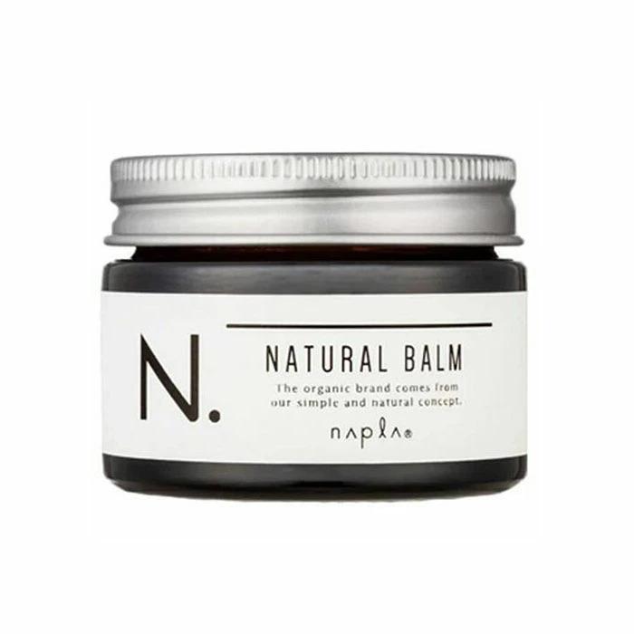 手に残ったバームは保湿のハンドクリームとしても使える ナプラ N. ナチュラルバーム 45g 40%OFFの激安セール エヌドット 期間限定特別価格 napla