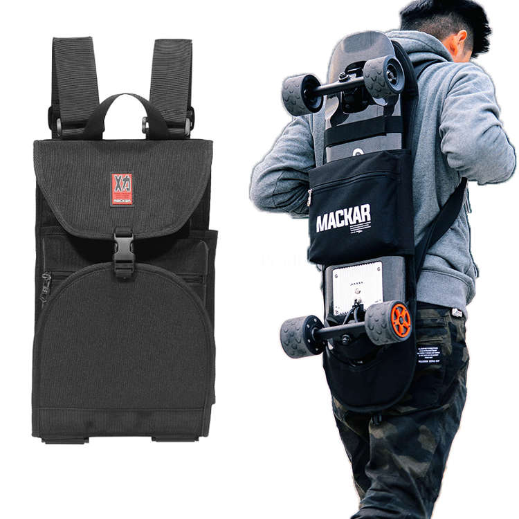 Bag Skateboard Rucksack Fashion Black
