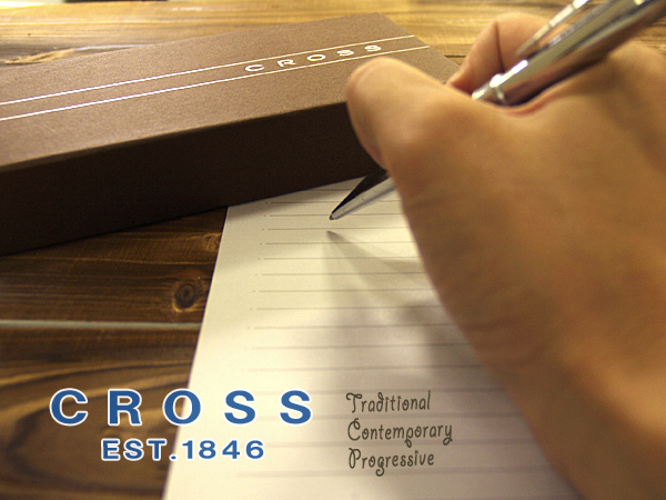 CROSS交叉STRATFORD斯特拉福圆珠笔铬AT0172-1(高级的/名牌/礼物/礼物/就职祝贺/入学祝贺/男性/女性/漂亮)