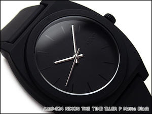 Nixon unisex watches THE TIME TELLER P time teller p P matte black A119-524
