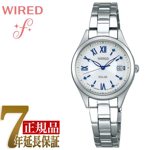 【SEIKO WIRED PAIR STYLE】セイコー ワイアード ペアスタイル ソーラー ペアモデル レディース 腕時計 AGED104