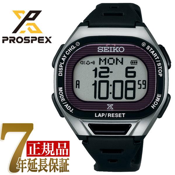 【正規品】セイコー プロスペックス SEIKO PROSPEX スーパーランナーズ ソーラー デジタル腕時計 ランニングウォッチ ユニセックス 腕時計 SBEF045