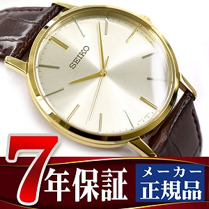 【SEIKO SELECTION】セイコー セレクション 流通限定モデル ゴールドフェザー ペアモデル クオーツ 腕時計 メンズ SCXP072【あす楽】