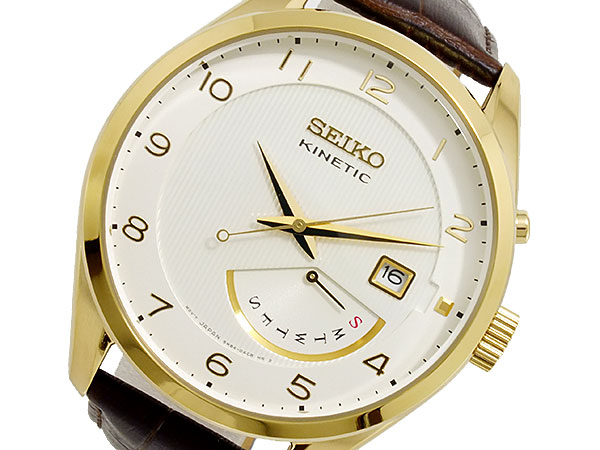 【逆輸入SEIKO】セイコー SEIKO KINETIC クオーツ メンズ 腕時計 SRN052P1